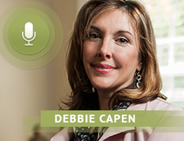 Debbie Capen discusses the mission of Mira Via on college campus
