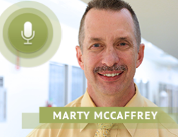 Mary McCaffrey discusses medical care