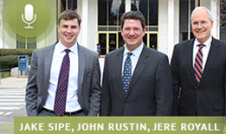 Jake Sipe, John Rustin, and Jere Royall discuss the election and voter guide