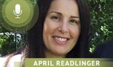 April Readlinger talks about marriage and honest conversation